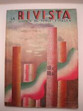AA.VV., La Rivista illustrata del Popolo d'Italia. Anno XVI - n. 12- 1937