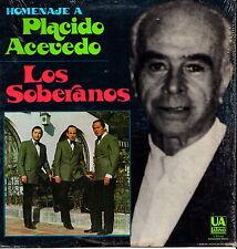 """PLACIDO ACEVEDO - Los Soberanos 1972 (Vinile e Cover=Mint) LP 12"""" USA Import"""
