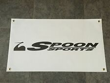 Spoon Sports banner sign shop garage racing tuning JDM crane all motor track