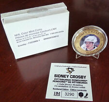 2000's Sidney Crosby Numbered Edition Solid Bronze Medallion with COA #3290 / SP