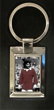 George Best Old Trafford - Man Utd FC - High polished metal keyring