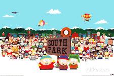 South Park Cast Poster Print, 36x24