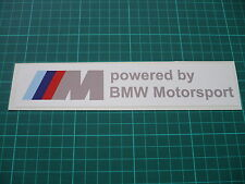 BMW Motorsport Stickers Pair 200mm