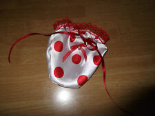 SISSY SATIN~ORGANZA POUCHE/ WI**Y WARMER/ CHASTITY DEVICE COVER TION