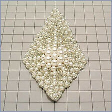 PEARL DESIGNER MOTIF BEADED APPLIQUE 2290-A