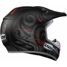 CASCO LAZER MX7 HURRICANE TAGLIA XS BLACK GREY RED CROSS ENDURO QUAD