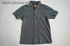 Wings and Horns W+ H Indian Novajo Polo Shirt Slim size XSmall