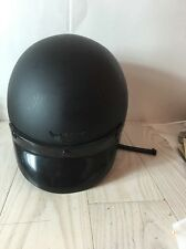 Vintage Harley Davidson Motorcycle safety helmet  made in Italy by Bieffe