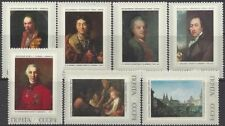 RUSSIA 1972 SC# 3976-82 OLD RUSSIAN PAINTING 7 STAMPS  MNH
