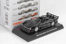 Mercedes-Benz CLK GTR Roadster black 1:64 Kyosho Japan / Minichamps