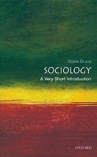 Very Short Introductions: Sociology by Steve Bruce (2000, Paperback)