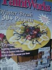 Paint Works Painting Magazine Feb 2002 Sled Series Pt 2, Tiger Cub, Ice Fishing