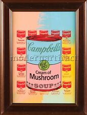 Steve Kaufman Campbell's Soup Hand Painted Screen Print Pop Art Kitchen Painting