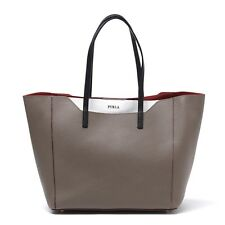 Furla Italy 811083 B BGB1 DAB Fantasia Daino & Chalk Leather Tote Shopper Bag