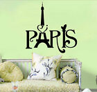 Paris Eiffel Tower Decal Room Wall Vinyl Art Stickers Mural Home Decor Removable