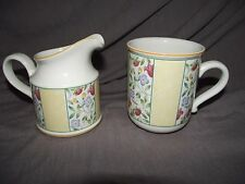 Villeroy & Boch Virginia Creamer and Mug Set