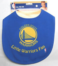 NBA NWT INFANT ALL PRO BABY BIB - ALL BLUE - GOLDEN STATE WARRIORS