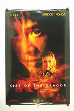 "KISS of the DRAGON - Jet Li - Original Movie Poster - 2001 Rolled DS ""A"" C8/C9"