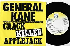"SOUL - GENERAL KANE 45 & PIC SLV on GORDY (promo) ""CRACK KILLED APPLEJACK""  N-M"