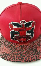 Hater Snapback OuterSpace Hat Red Jesus Walks on Water 23 Basketball Limited