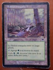 Carta Magic Maleza tranquila. Tierra