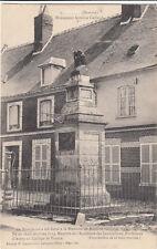 SOMME monument Antoine Galland éd capaumont écrite 1914
