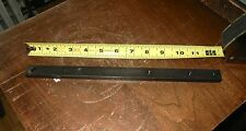 "NOS Delta 12"" Miter Bar for Table Saw Shaper Router Jigs Fixtures 3/4"" x 3/8"""