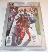Deadpool #68, Volume #1 - Graded NM/MT 9.8 - Gail Simone signature issue