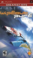 Sony PSP Wipeout Pure Greatest Hits UMD Video Game combat racing flyin COMPLETE