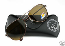 Polarized Sunglasses in Unbreakable Lens Aviator Style - Polarised Goggles