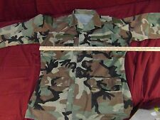 SPECIAL FORCES RANGER BDU JACKET TOP AIRSOFT WOODLAND V TAGS NM 13734