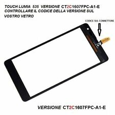 TOUCH SCREEN VETRO  PER NOKIA LUMIA 535 VERSIONE CT2C1607FPC-A1-E  ( 2C )