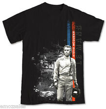 Steve McQueen Gulf Le Mans T Shirt Black size Extra Extra Large not Mustang