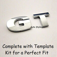 GT Car Badge Emblem Logo VW Golf Passat CC Rear Boot Tailgate Sticker FSI TDI 19