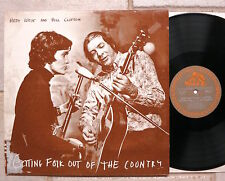 HEDY WEST and BILL CLIFTON ‎– Getting Folk Out Of The Country  LP  Bear Family