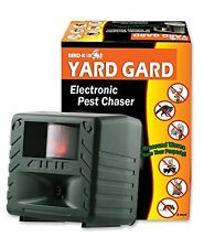 Bird-X Yard Gard Electronic Animal Repeller keeps unwanted pests  sound-waves