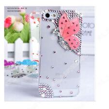 New Hard Bling Jewelled Crystal Diamonds Rhinestone Skin Clear Phone Case Cover