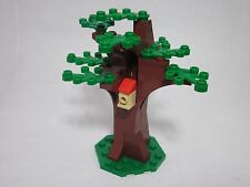 LEGO custom forest tree with birdhouse, green leaves, new parts, FREE U.S. Ship!