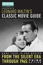 Turner Classic Movies Presents Leonard Maltin's Classic Movie Guide: From the Si