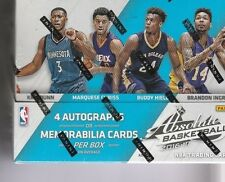 2016 17 ABSOLUTE BASKETBALL  HOBBY FACTORY SEALED BOX