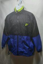 VTG 90s Nike Air Swoosh Windbreaker Jacket ColorBlock Jordan Medium Big Logo