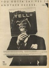 21/5/83PN24 ADVERT: YELLO YOU GOTTA SAY YES TO ANOTHER EXCESS 15X11