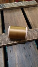 Gudebrod Nylon Rod Winding Thread 340 Gold Size D 1 Oz 575 Yards