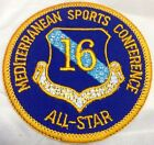 Vintage US USAF 16th Air Force Mediterranean Sports Conference All Star Patch