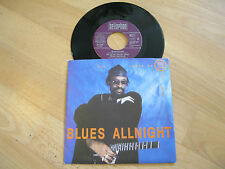 "7"" Single The James Blood Ulmer Blues Experience Blues Allnight Vinyl BELLAPHON"