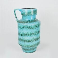 Vintage XXL Bodenvase 50cm / Vase German Pottery 314-50 / Türkis Fat Lava 70er
