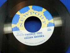 LILLIAN BROOKS - Twinkle Toes / Nina Non - 1961 PROMO on NEWPORT LABEL