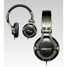 Shure SRH550DJ Pro Quality DJ Headphones-swivel earcups-collapsible-carrying bag