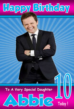 DECLAN DONNELLY ANT 'n 'DEC Personalised Birthday Card! ANY NAME/AGE,GREAT CARD