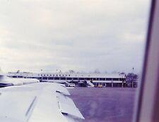 Vintage Slide 1966 Caravelle Vietnam Airliner Saigon Tan Son Nhat Airport